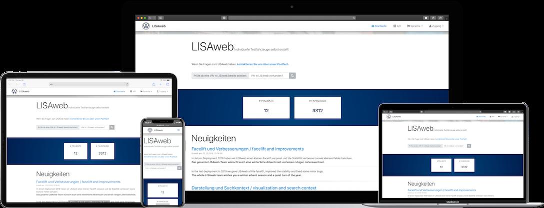 LISAweb App